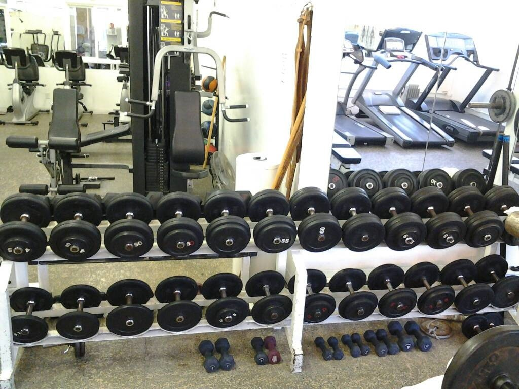 commercial fitness equipment Bay O Vista Swim Club