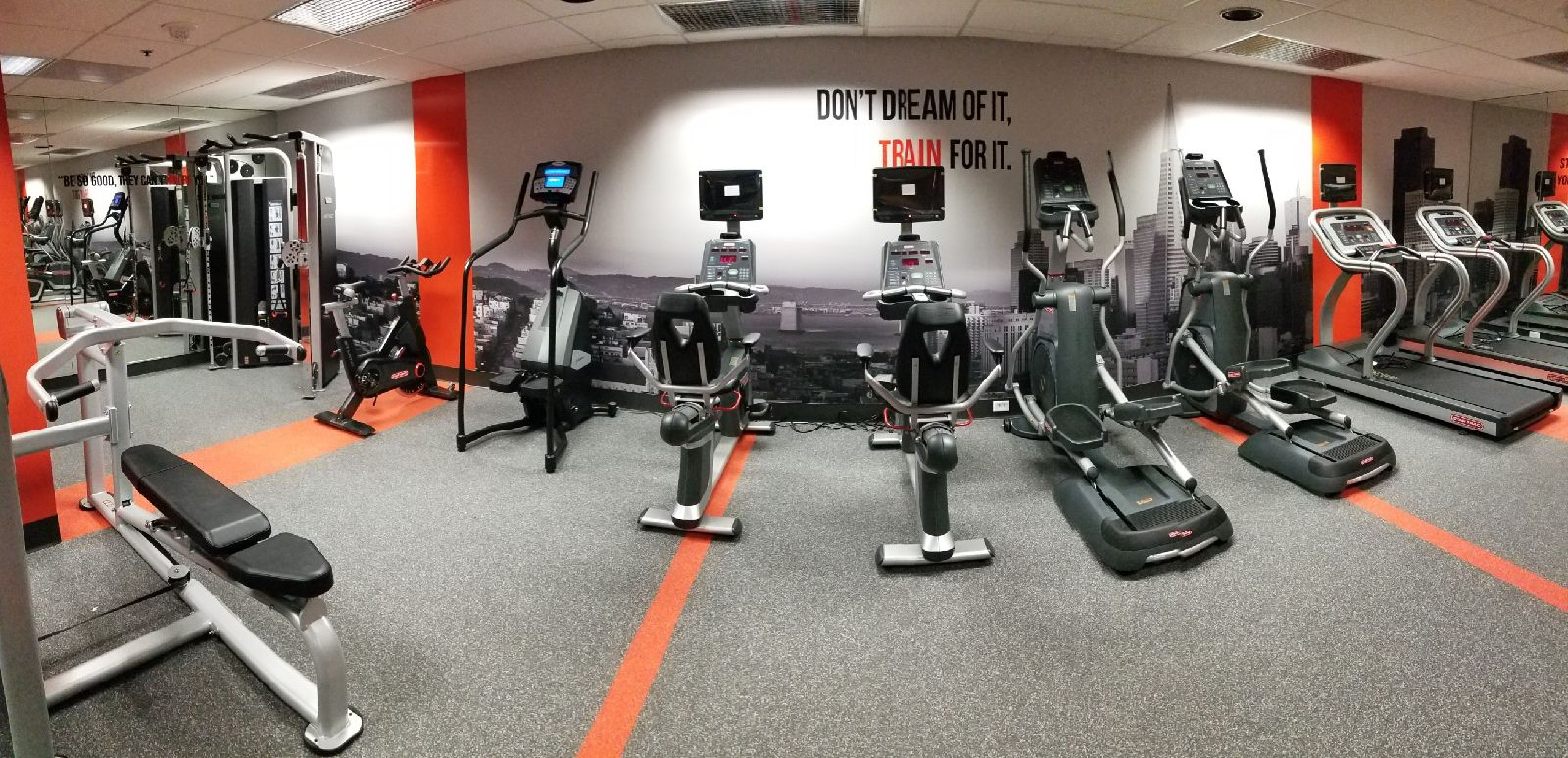 Fit-Tech fitness equipment installation One Bay Plaza